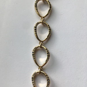 Kenneth Cole Gold-Tone Chain link bracelet
